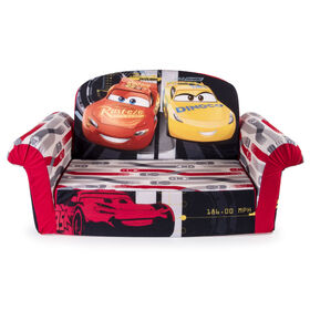 Marshmallow Furniture - Flip Open Foam Sofa - Cars 3