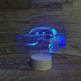 Disney Cars 3D LED Night Light