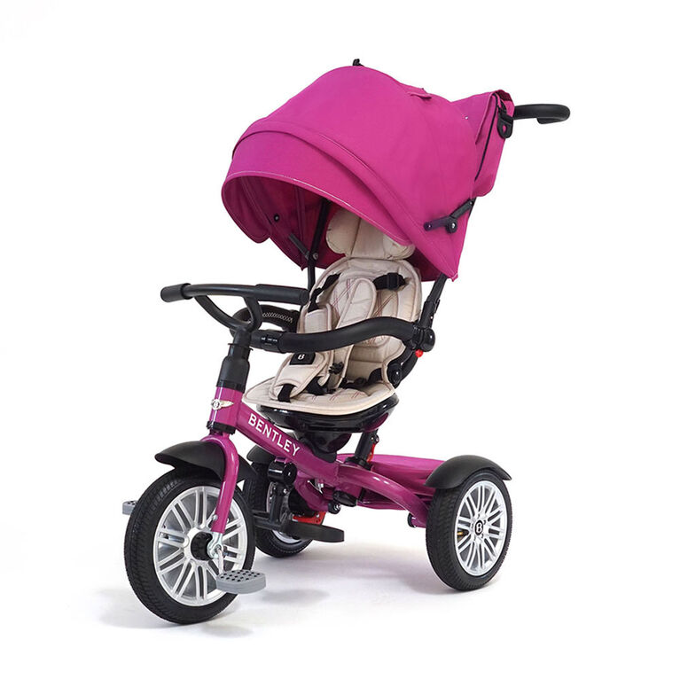 Bentley - tricycle 6 en 1 - fuschia