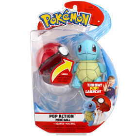 Pop Action Poké Ball - Squirtle & Poke Ball
