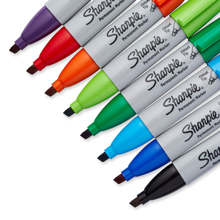 Sharpie Chisel 8 Pack