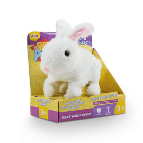 Assortiment de lapins Pitter Patter Pets Teeny Weeny Bunny - Blanche.