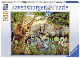 Ravensburger: Majestic Watering Hole Jigsaw Puzzle 500 Pieces