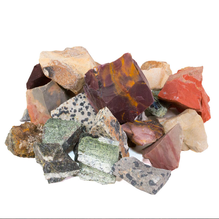 National Geographic Rock Tumbler Refill Pack - Jasper mix - Édition anglaise