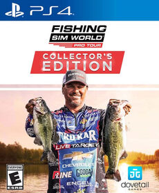 Playstation 4 Fishing Sim World Pro Tour Collectors Edition