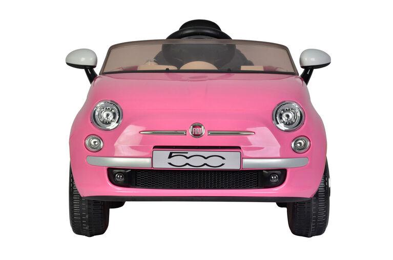 Fiat 500 12V- Pink
