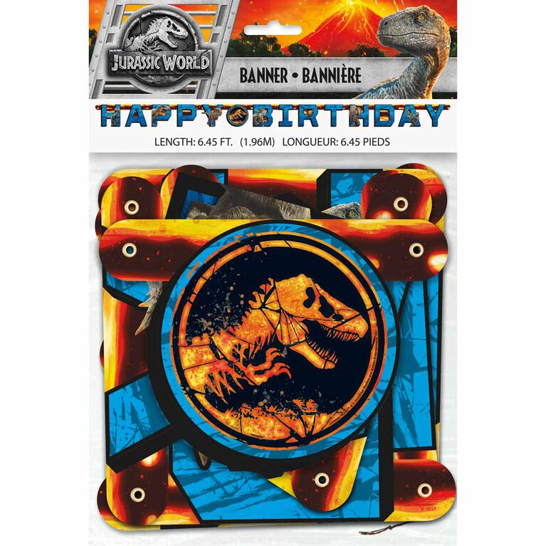 Jurassic World Large Jointed Banner - English Edition