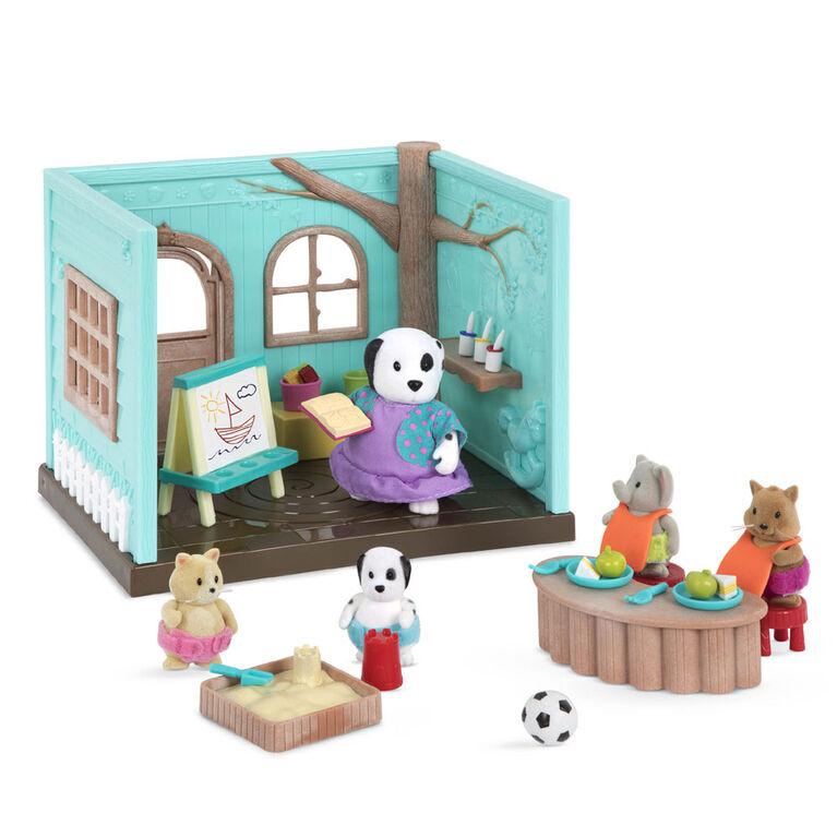 Li'l Woodzeez, Li'L Luvs & Hugs Nursery Playset - styles may vary