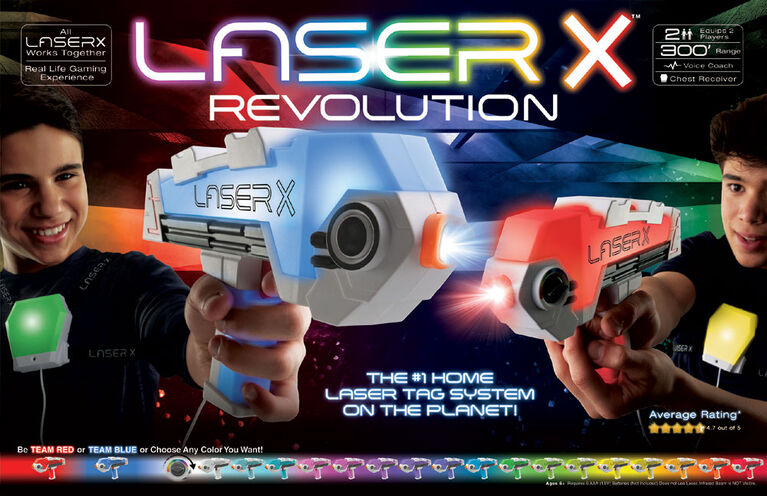 Laser X Revolution Blasters
