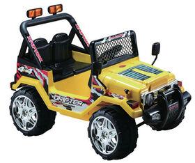 Kidsquad Wrangler Style 12V Yellow