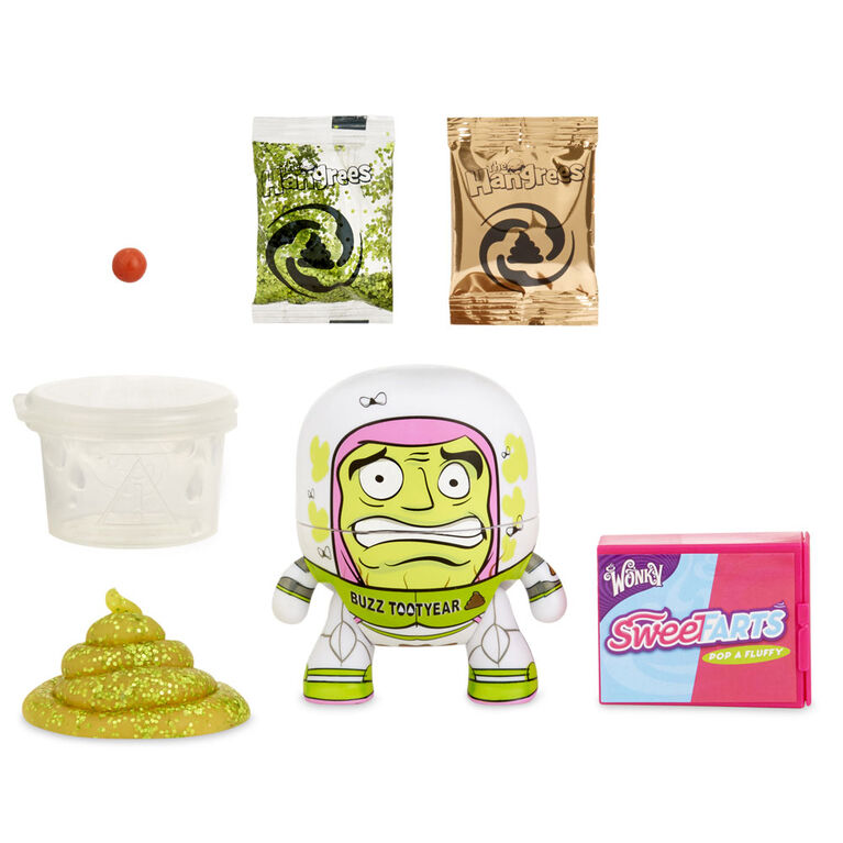 The Hangrees: Buzz Tootyear Collectible Parody Figure with Slime
