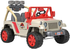 Power Wheels Jurassic Park Jeep Wrangler