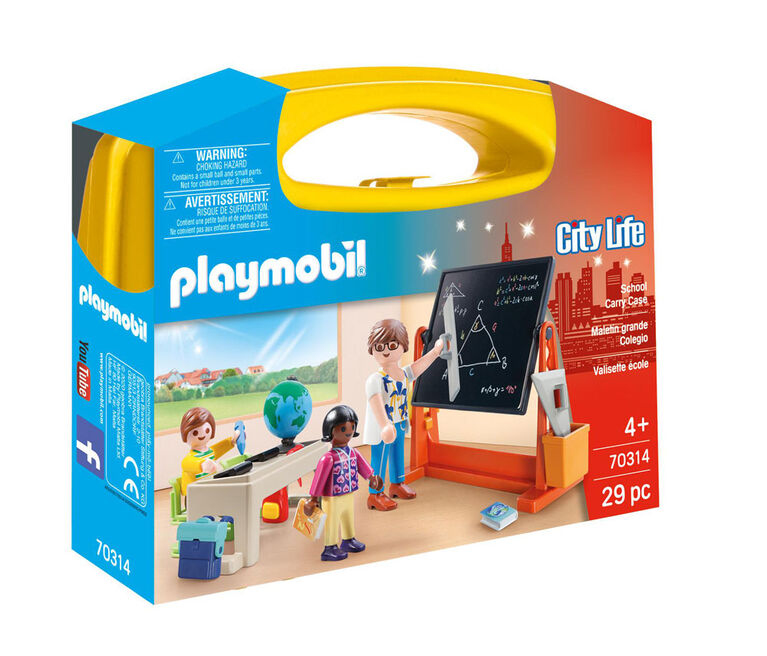 Playmobil School Carry Case 70314