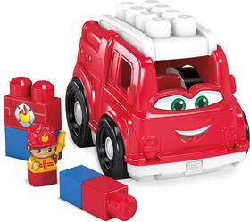 Mega Bloks - Lil'Véhicule Camion de Pompier - Freddy