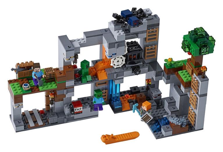 LEGO Minecraft Les aventures souterraines 21147