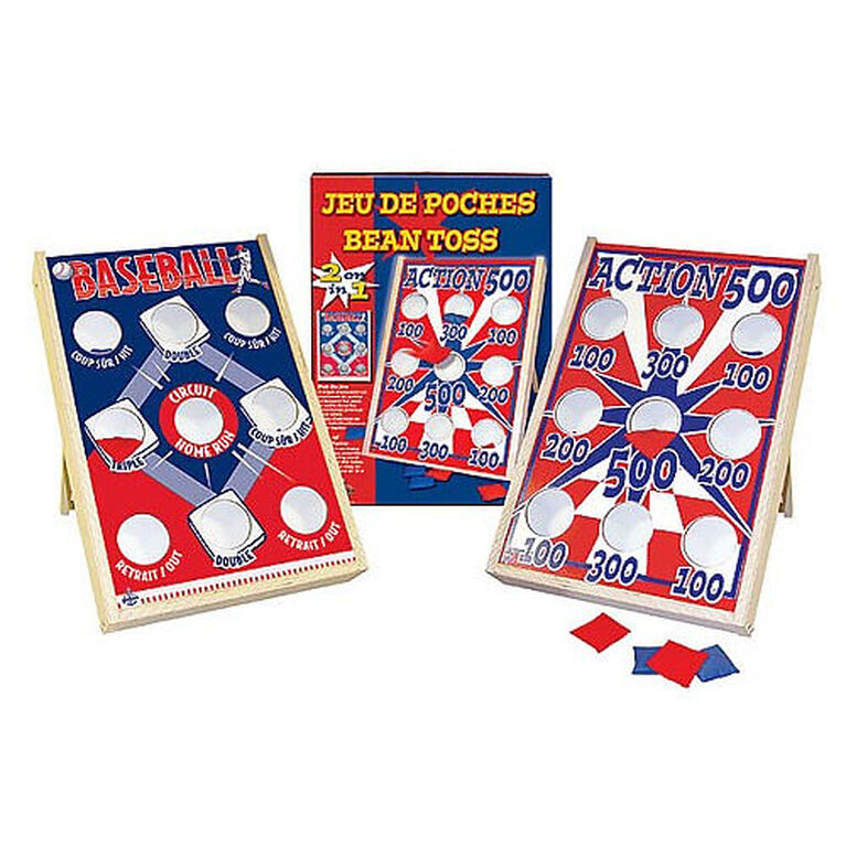 Bean Toss Game Action 500 - French Edition