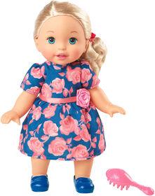 Petite Maman - Mignonne comme moi - Fleur de rose -Poupée