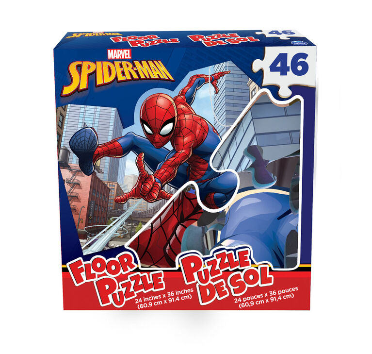 Marvel's Spider-Man - 46-Piece Floor Puzzle
