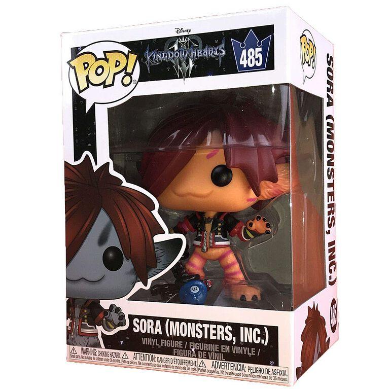 Figurine en vinyle Sora (Monsters Inc.) de Kingdom Hearts par Funko POP!. - Notre Exclusivité