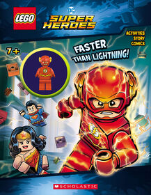 Lego DC Activity Book With Minifigure #3: Faster than Lightening! - English Edition