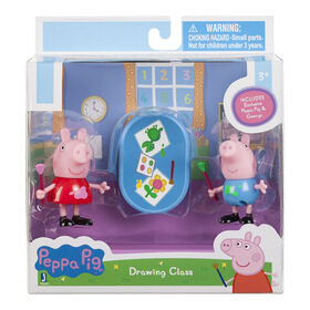 Peppa Pig - Peppa & George Drawing Pictures