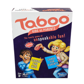 Taboo Kids vs Parents Game - English Edition