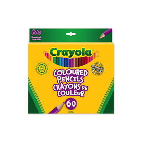 Crayola Coloured Pencils, 60 Ct