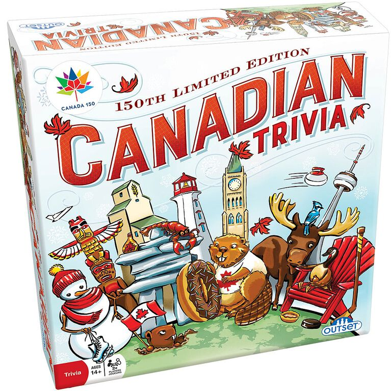 Canadian Trivia Game 150th Anniversary Edition