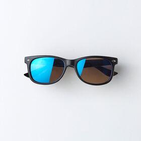 classic sunnies, o/s kids sunglasses - black