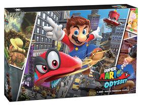 """Super Mario Odyssey """"Snapshots"""" 1000 Piece Puzzle - English Edition"""