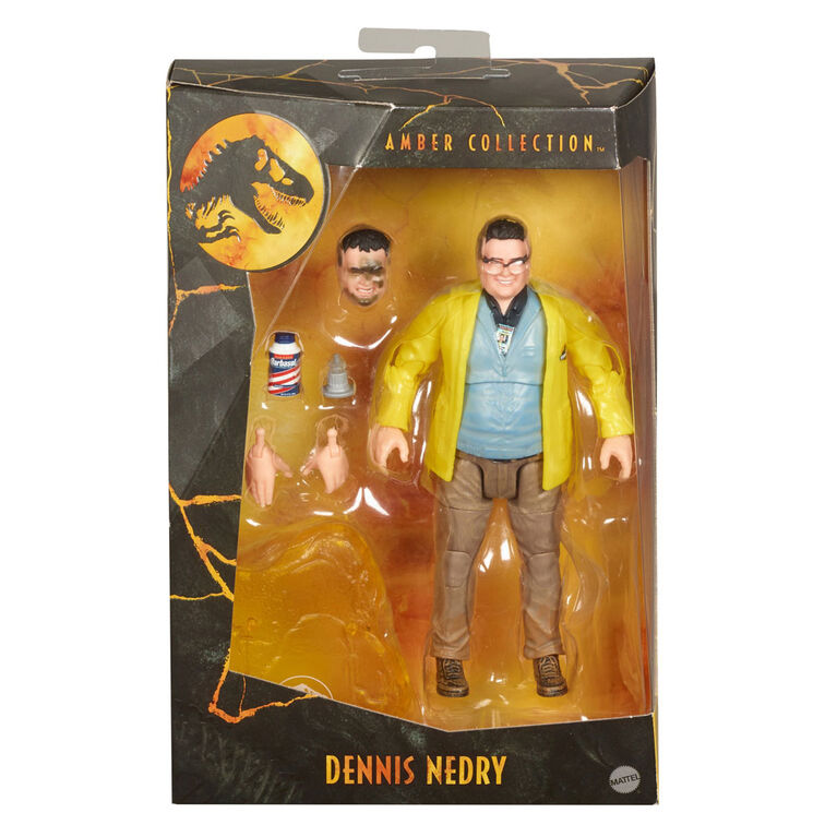 Jurassic World Amber Collection Dennis Nedry