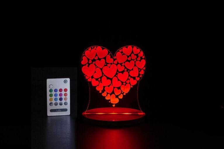Lumière de nuit Tulio Dream Light - Coeur