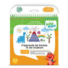 LeapFrog LeapStart - J'apprends les formes et les couleurs - Livre d'activité - Édition française