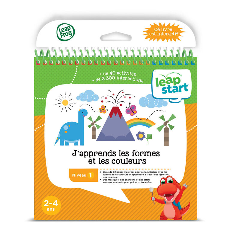 LeapFrog® LeapStart® Shapes & Colors with Creativty - Activty Book - French Edition