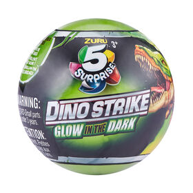 Zuru 5 Surprise Dino Strike Glow In The Dark