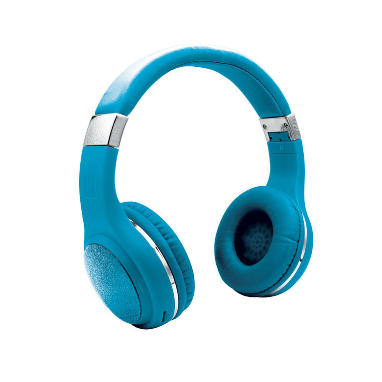 LimitedToo Glitterbomb Wireless Headband Earphones - Blue