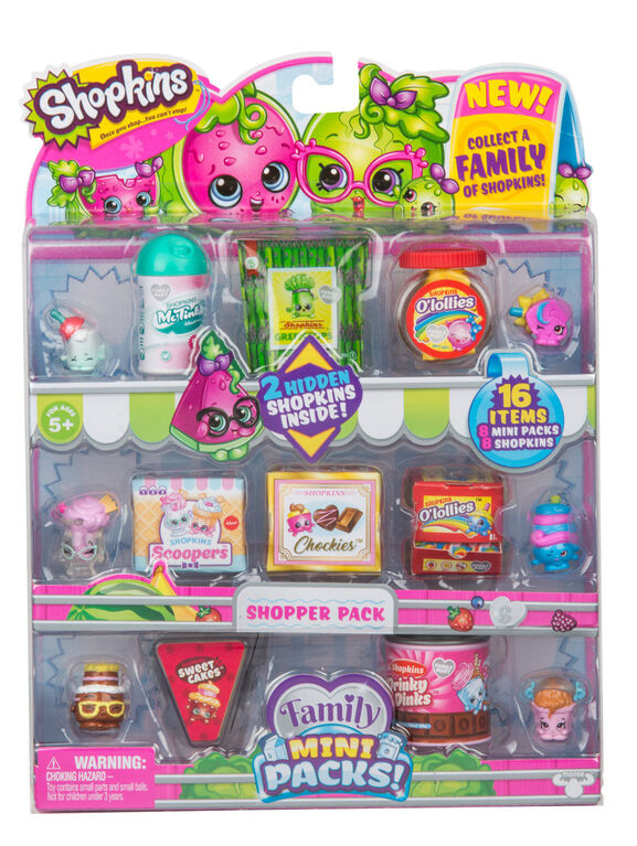 Shopkins Season 11 Family Mini Packs! Shopper Pack