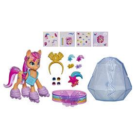 My Little Pony: A New Generation, Aventure de cristal Sunny Starscout, figurine de poney orange