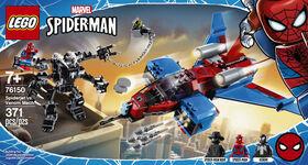 LEGO Super Heroes Le Spider-jet contre le robot de Venom 76150