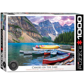 EuroGraphics Canoes on the Lake 1000-Piece Puzzle