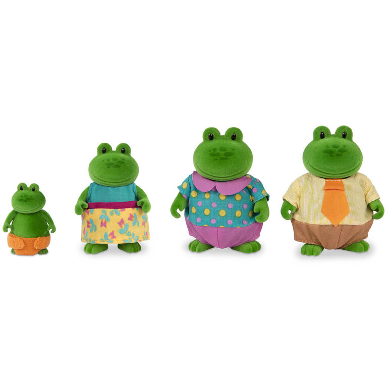 Croakalily Grenouilles, Li'l Woodzeez, Ensemble de petites figurines de grenouilles