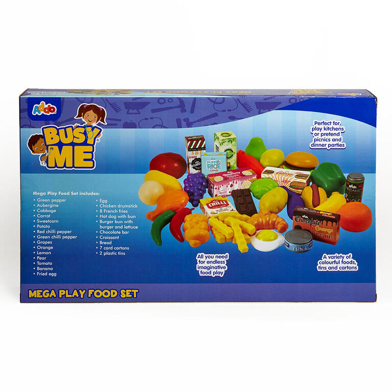 Busy Me Mega Play Food Set - R Exclusive - English Edition