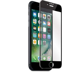 Blu Element 3D Curved Glass for iPhone 8/7/6S/6 Black (BTGI8G)