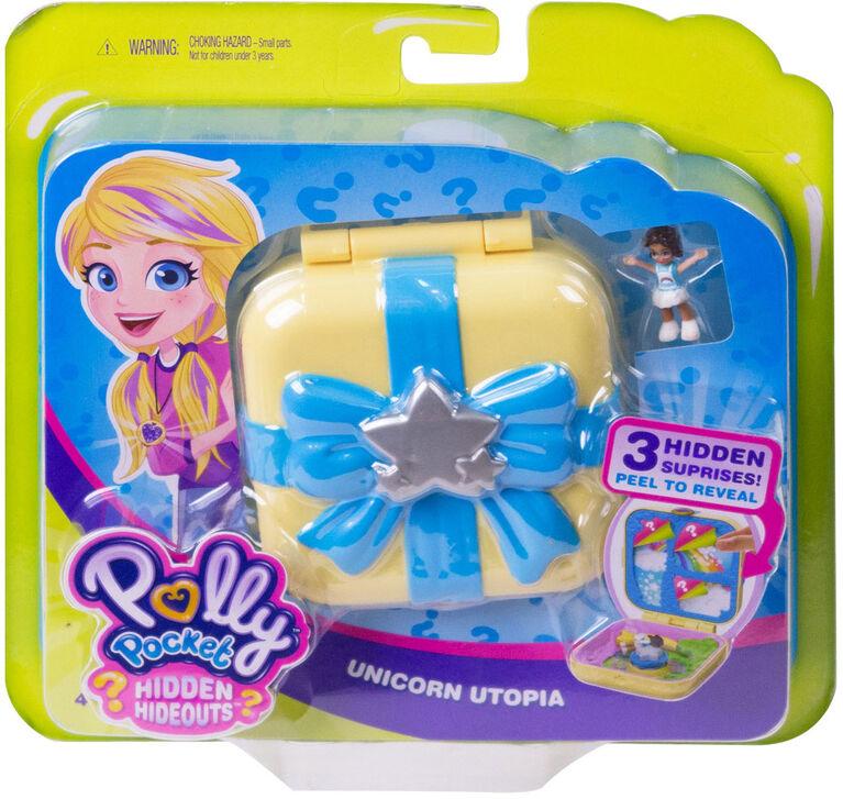 Polly Pocket Hidden Hideouts Unicorn Utopia