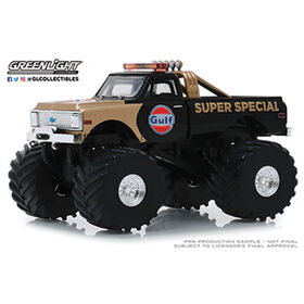 1:64 Kings Of Crunch - 1971 Chevrolet K-10 Gulf Super Special Monster Truck