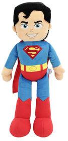 DC Comics Justice Leagues Plush Superman Poupée Superman de 21 po en peluche à collectionner By Animal Adventure