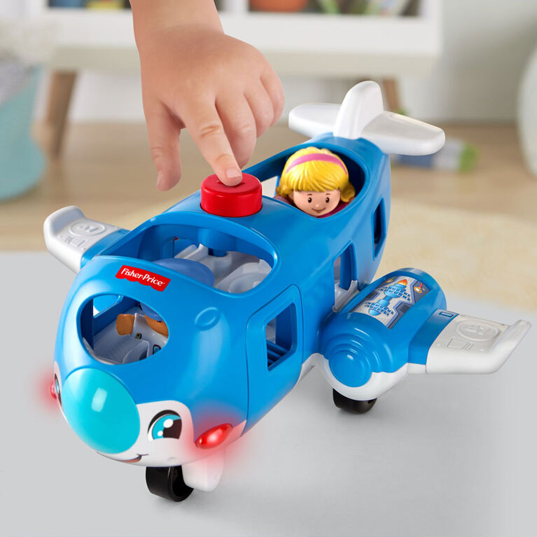 Fisher-Price Little People Travel Together Airplane - English Edition