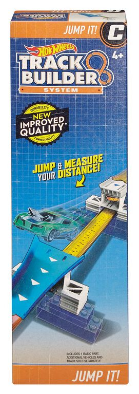 Hot Wheels Track Builder Jump it - R Exclusive