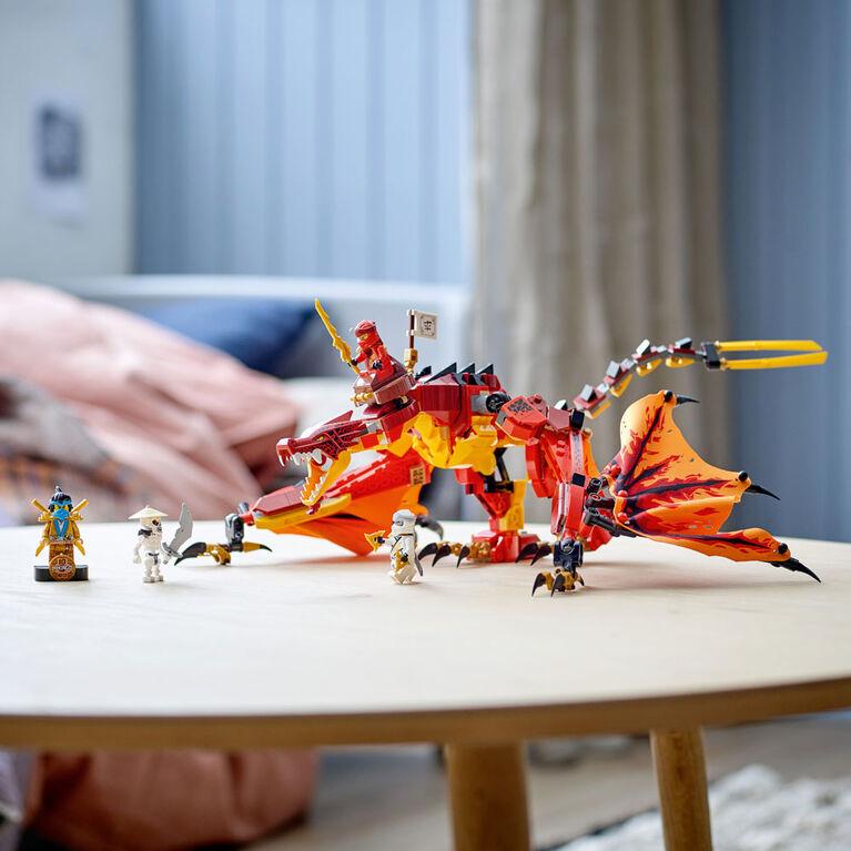 LEGO Ninjago Le dragon de feu de Kai 71753