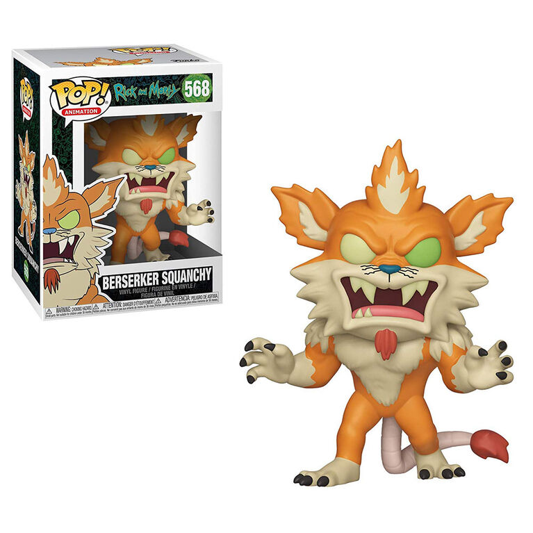Funko POP! Animations: Rick and Morty - Beserker Squanchy Vinyl Figure